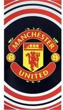 Manchester United Pyyhe - Musta/Punainen