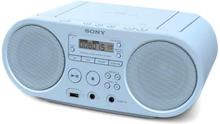 Cd-radio Sony Zs-ps50 Blå