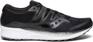Saucony Men's Ride Iso Herre Løpesko Sort US 10,5/EU 44,5