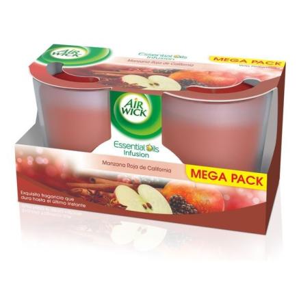 Doftljus Air Wick Kaliforniens Röda Äpplen (2 st)
