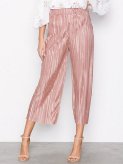 NLY Trend Pleated Culotte Pants Rose