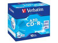 CD-R VERBATIM 700MB 10/FP