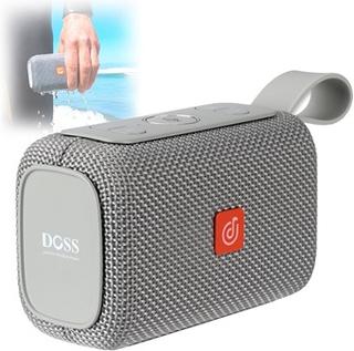 Doss E-go Vandtæt Bluetooth-højtaler - Grå