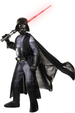 Deluxe Darth Vader kostume 110 cm - Star Wars fastelavn og udklædning 620276 - Eurotoys