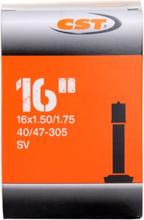 CST Tube, 16x1.5-1.75, Car Valve cykeltillbehör Svart 16