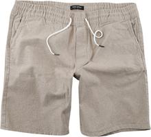 Shine Original - Chambray Drawstring Shorts -Shorts - sand