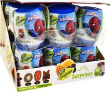"""Hel Låda Fruktgodis """"Spider-Man"""" 18 x 6g - 81% rabatt"""