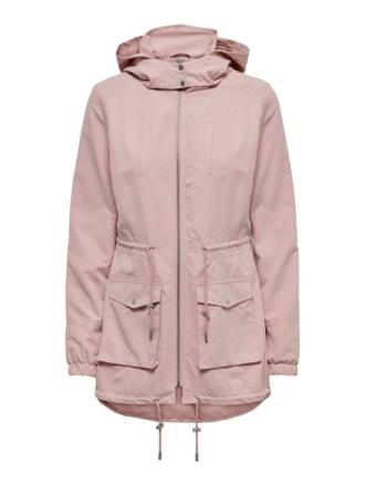 ONLY Seasonal Parka Coat Women Pink