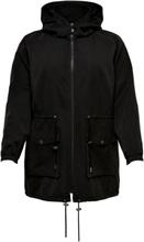 ONLY Curvy Seasonal Parka Coat Women Black