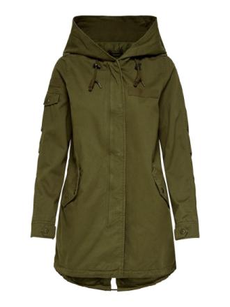 ONLY Seasonal Parka Coat Women Green