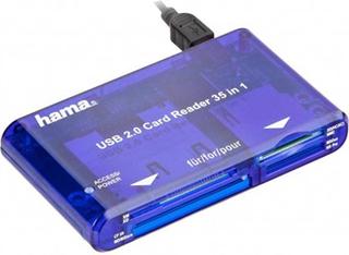 Hama USB 2.0 Kortlæser 35-i-1