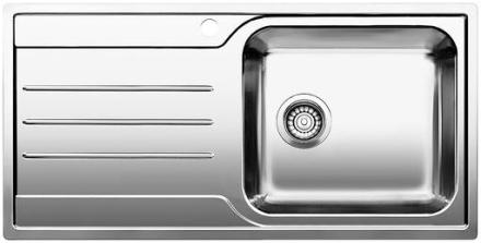 Blanco Median XL 6S-IF 1H højre Køkkenvask 100x50 cm, Rustfrit stål