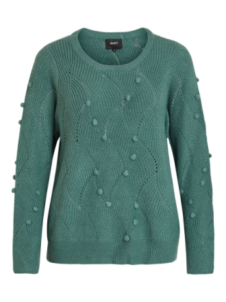 OBJECT COLLECTORS ITEM Pom Pom Detailed Pullover Women Blue