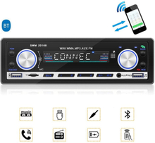 MTK Bilstereo Bluetooth FM MP3 Aux USB Stereo-mottagare