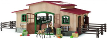 Bondegårdsdyr Horse stable with accessories