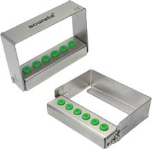 Oppbevaringsboks i aluminium x6