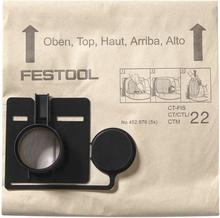 Festool FIS-CT 22/20 Filtersäck 20 stycken