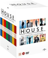 House: Complete Box - Säsong 1-8 (46 disc)