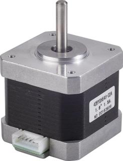 RF100 reservedel stepper motor X/Y Extruder Renkforce Passer til (3D printer) Renkforce RF100 , renkforce RF100 v2 , renkforce RF100 XL , renkforce RF