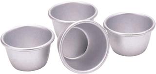 Kitchen Craft - Kitchen Craft, Puddingformer i Aluminium 4-Pakk