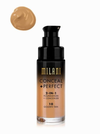 Milani Conceal & Perfect Liquid Foundation Golden Tan