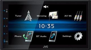 JVC KW-M25BT Bilmediaspelare Dubbel-DIN Anslutning för rattfjärrkontroll, Anslutning för backkamera