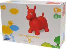 HB Hop n' Bounce Pony Red w/Pump