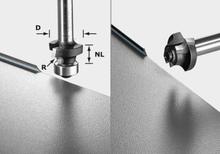 Festool S8 HW R3 D22-KL OFK Avrundningsfräs