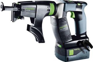 Festool DWC 18-2500 Li 5,2-Plus DURADRIVE Skruvautomat med 5,2Ah batterier och TCL 6-laddare