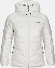 Helium Hood Jacket Women Valkoinen L