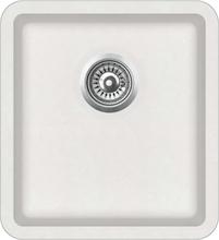vidaXL Diskho granit enkel vit