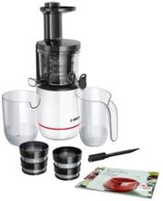 Bosch VitaExtract MESM500W - Råsaftcentrifug - 150 W - vit / svart