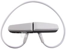 kuuma myyntiin Musiikki Urheilu mini stereokuulokkeet MP3 Player 4GB (valkoinen)