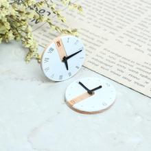 1:12 Scale Dollhouse Miniature Wall Clock Play Doll House Miniature Home Decor