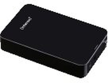 Intenso Memory Center - Harddisk - 4 TB - ekstern (stationær) - 3.5 - USB 3.0 - 5400 rpm - buffer: 32 MB - sort