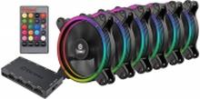 Enermax T.B. RGB UCTBRGB12-BP6 - Indsats med blæser - 120 mm (pakke med 6)