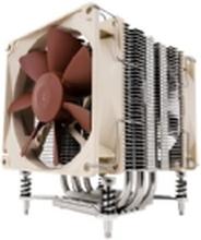 Noctua NH-U9DX i4 - Processor-køler - (for: LGA1366, LGA2011, LGA1356) - aluminium med nikkel belagt kobber base - 92 mm