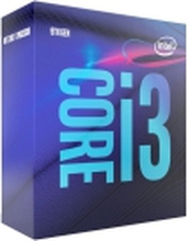 Intel Core i3 9100 - 3.6 GHz - 4 cores - 4 tråde - 6 MB cache - LGA1151 Socket - Box - Intel® UHD Graphics 630