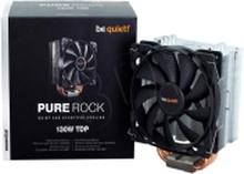 be quiet! Pure Rock Processor-køler - (LGA 1150 (Socket H3), LGA 1155 (Socket H2), LGA 1156 (Socket H), LGA 1366 (Socket B), LGA 775) 600 rpm - 1400
