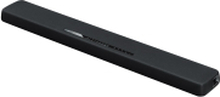 Yamaha YAS-107 - Lydbar - til TV - 2.1-kanal - boghylde - trådløs - Bluetooth - 120 Watt - 3-vejs - sort
