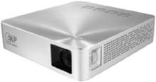 ASUS S1 - DLP-projektor - RGB LED-array - 200 lumen - WVGA (854 x 480) - 16:9 - ultrakort kast fikseret objektiv