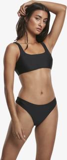 Urban Classics Kvinder Bikini Urban Classics Tank Top Bikini i sort, XS