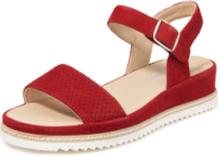 Sandaler getmocka från Sioux röd