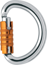 Petzl Omni Triact autolock Karbin Blank/Orange