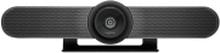 Logitech MeetUp - Konferencekamera - panering / hældningsvinkel - farve - 3840 x 2160 - audio - trådløs - Bluetooth LE / NFC - USB 3.0 - MJPEG