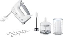 Bosch ErgoMixx MFQ36480 - Håndmixer - 450 W - hvid/grå