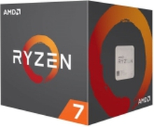 AMD Ryzen 7 2700X - 3.7 GHz - 8 kerner - 16 tråde - 16 MB cache - Socket AM4 - Box