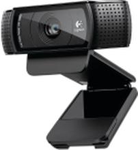 Logitech HD Pro Webcam C920 - Webcam - farve - 1920 x 1080 - audio - USB 2.0 - H.264
