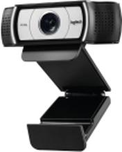 Logitech Webcam C930e - Webkamera - NB! Leveres uden software, bruger standard driver! - farve - 1920 x 1080 - audio - USB 2.0 - H.264