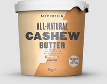 All-Natural Cashew Butter - 1kg - Original - Smooth